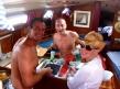 Dining at anchor