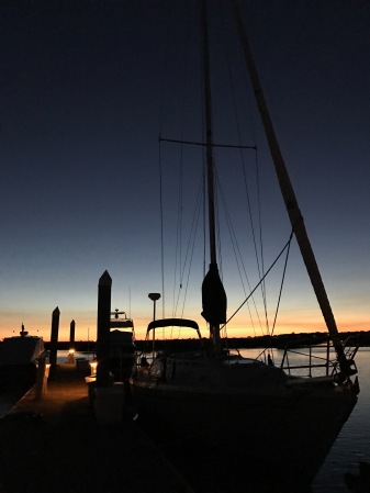 Alliance at Sunset, Tolers Cove Marina